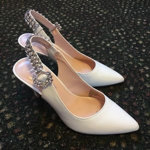 Nanette Lepore bridal shoes